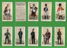 Cigarette cards Uniforms of the Territorial Army